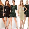 Payetli Pullu Abiye Elbise Modelleri 2014