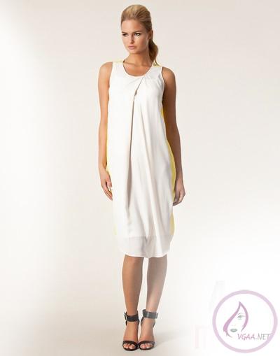 Beyaz Abiye Elbise Modelleri 2014