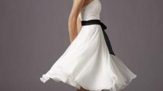 Straplez Abiye Elbise Modelleri 2014