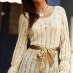 beyaz-renkli-kuşak-bağlamalı-Nako-bayan-file-kazak-modeli