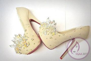 Pudra Pembesi Ayakkabı