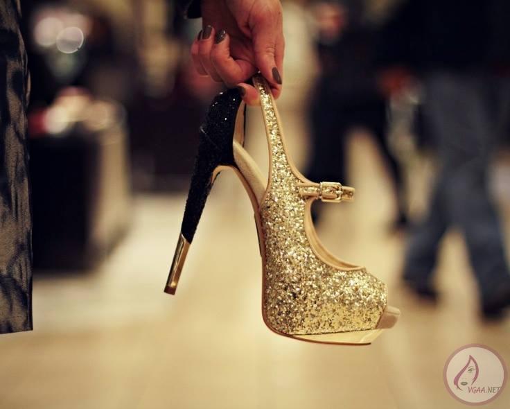 Önü Açık Yüksek topuklu Ayakkabı
