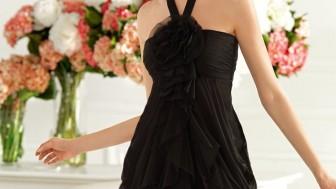 Siyah Abiye Elbise Modelleri 2014