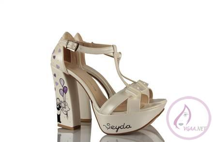 Gelin için ayakkabı modelleri