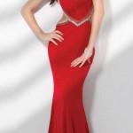 Balık Etek Kırmızı Abiye Elbise Modelleri
