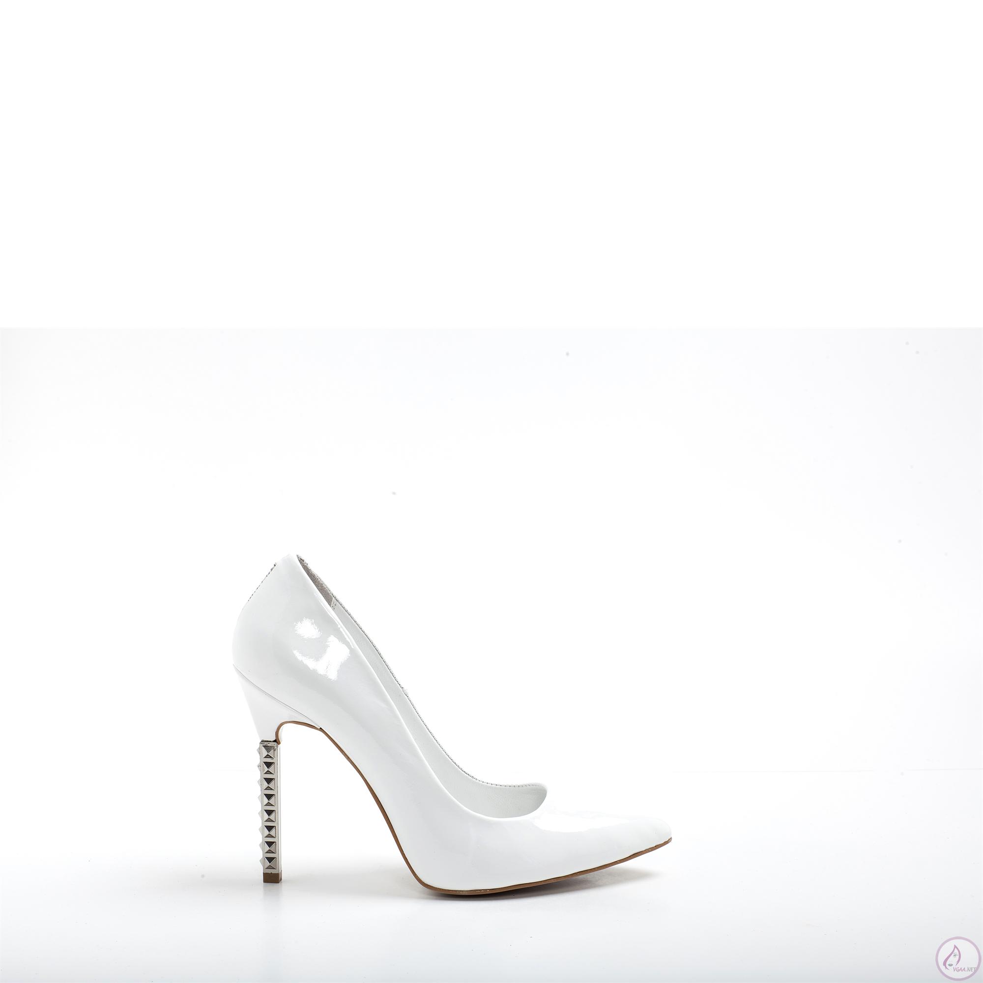 Beyaz Topuklu Abiye Ayakkabı Modelleri