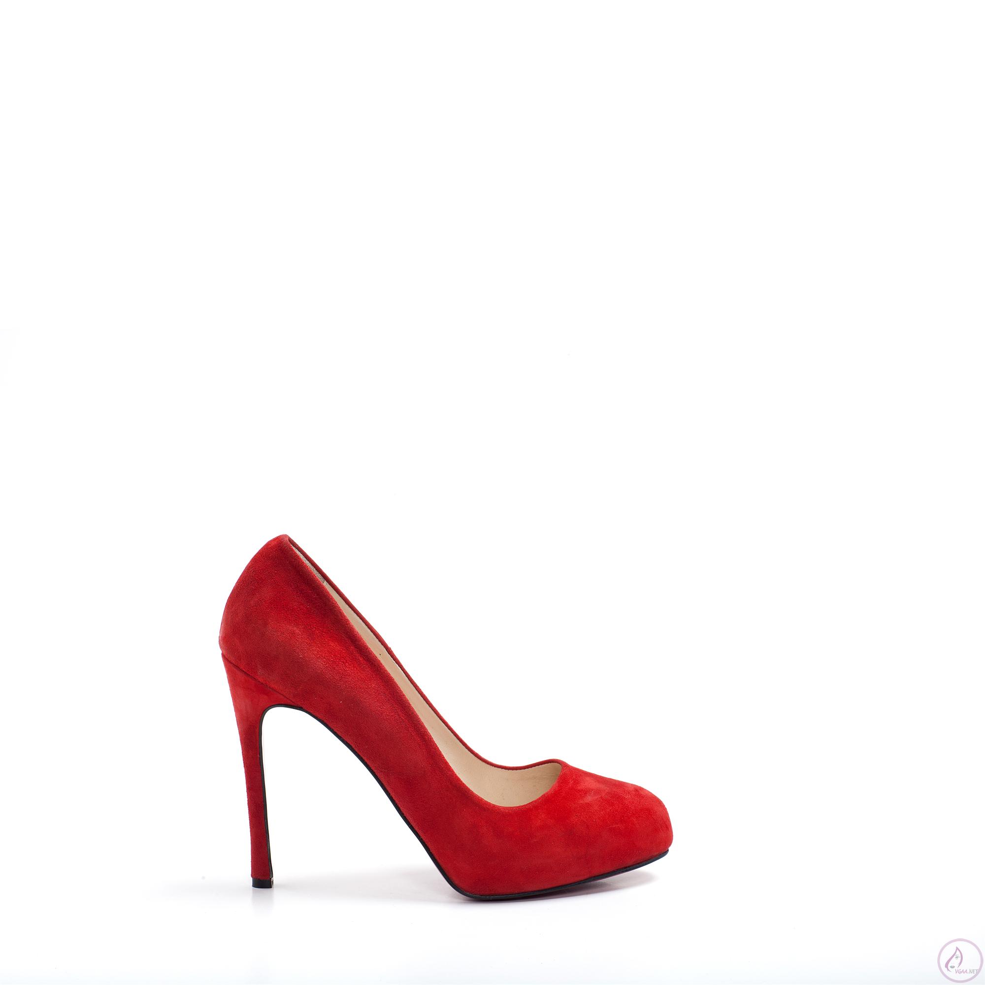 Kırmızı Topuklu Abiye Ayakkabı