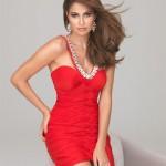 2014 Kırmızı Abiye Elbise Modelleri