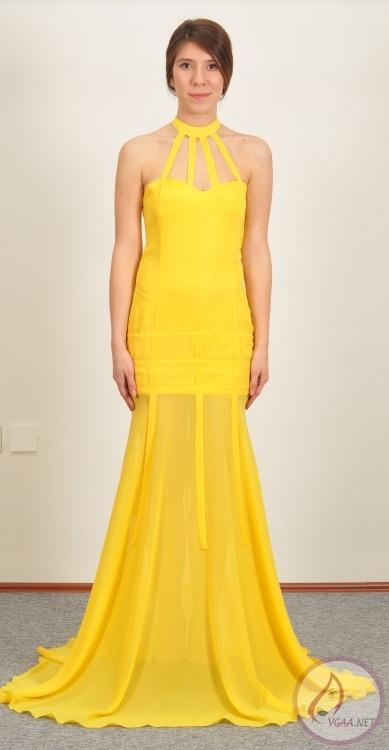 4f3e0c74031ab Sarı Abiye elbise modelleri 201412 - Vgaa.Net