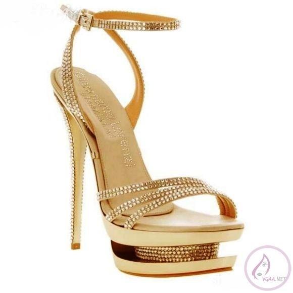 Taşlı abiye Ayakkabılar