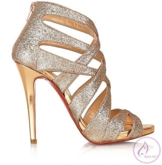 Altın ayakkabı modelleri