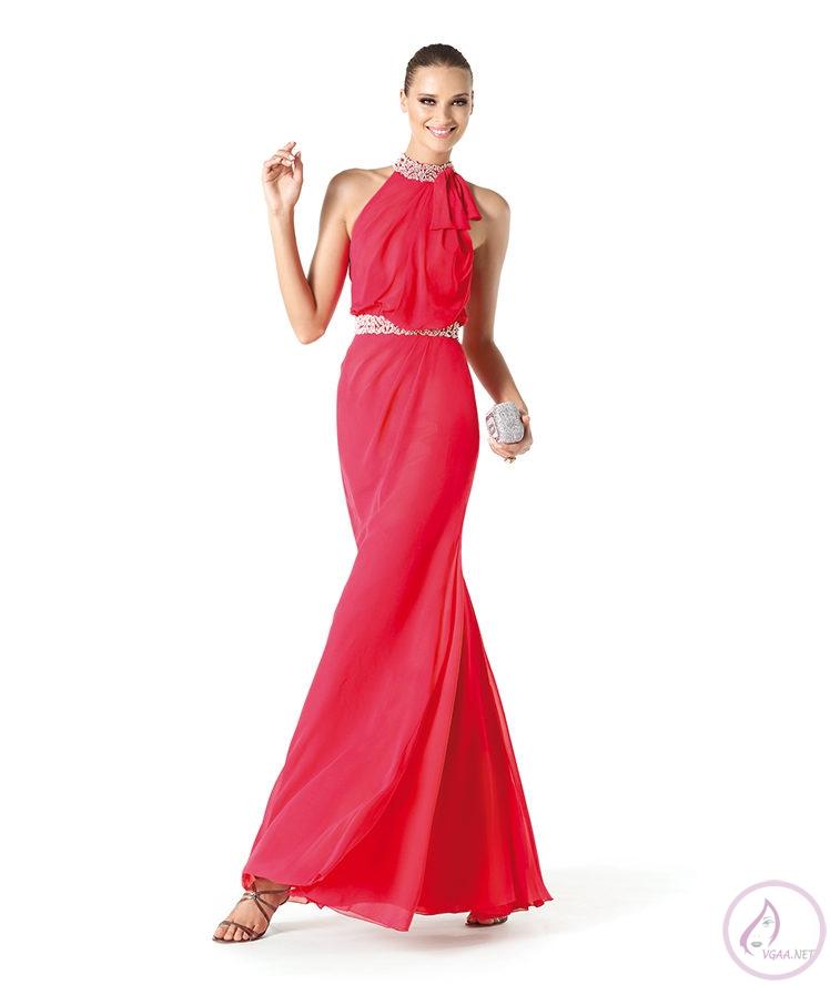 uzun Kırmızı Abiye Elbise Modelleri2
