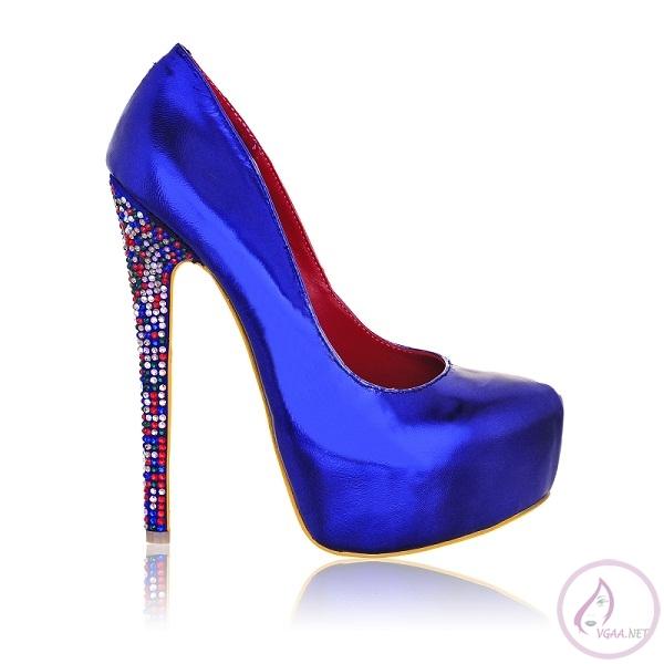 Parlement Mavisi Ayakkabı Modelleri