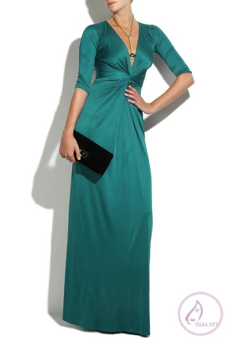 şık-yeşil-abiye-elbise-modeli