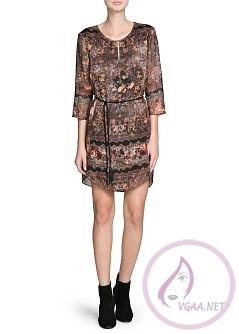 Mango Elbise Modelleri 2014-15