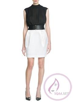 Mango Elbise Modelleri 2014-18
