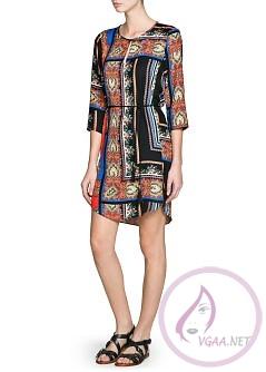 Mango Elbise Modelleri 2014-19