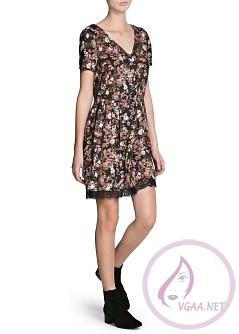Mango Elbise Modelleri 2014-2