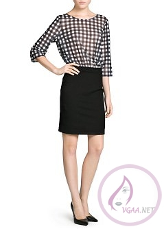 Mango Elbise Modelleri 2014-24