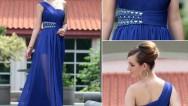Mavi Abiye Elbise Modelleri ile tüm gözler üzerinizde olacak