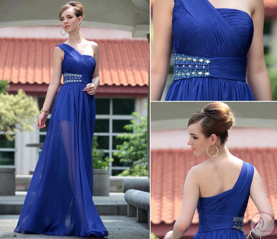 tek-omuz-mavi-abiye-elbise-modelleri