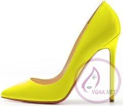 neon-sarı-topuklu-ayakkabı-modelleri