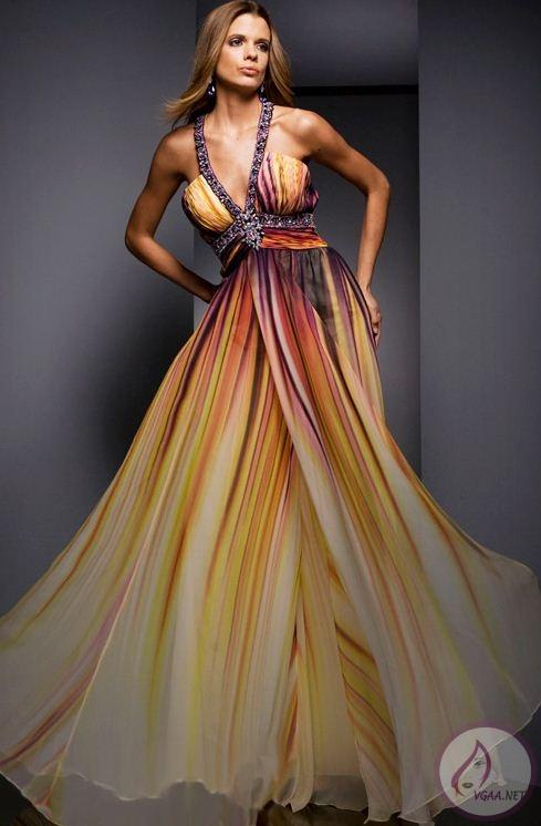 şifon-abiye-elbise-modeli
