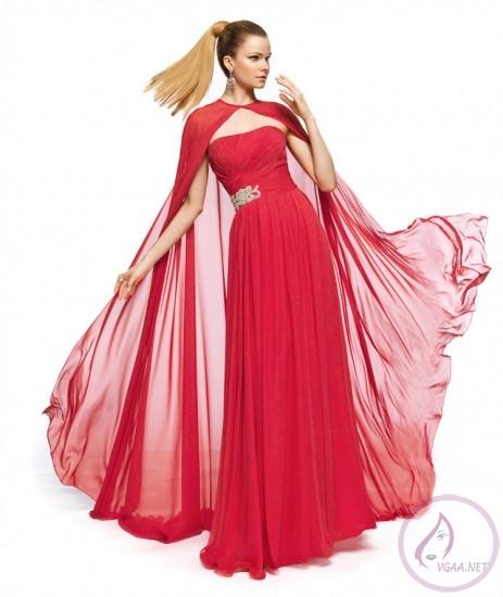 şifon-pelerinli-uzun-abiye-elbise-modeli-463x550