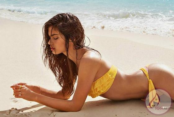sarı bikini modelleri