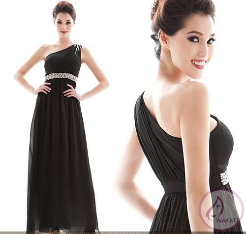 siyah abiye elbise