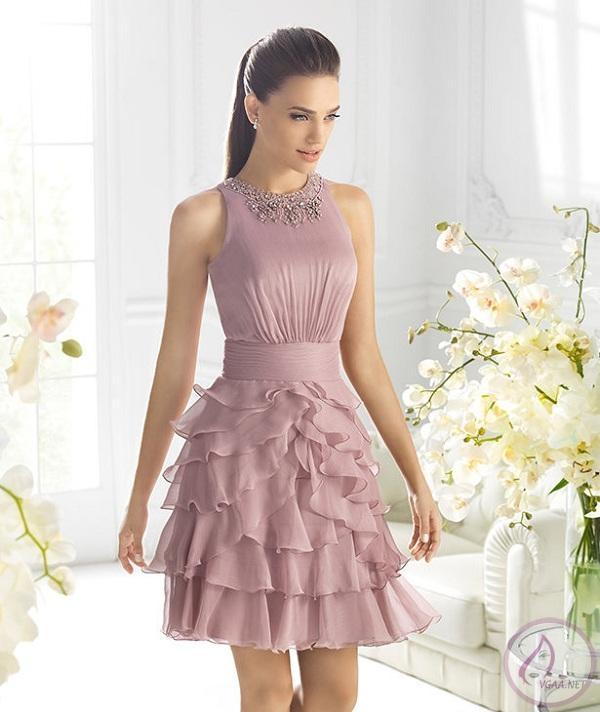 Gül Kurusu Abiye Elbise Modelleri