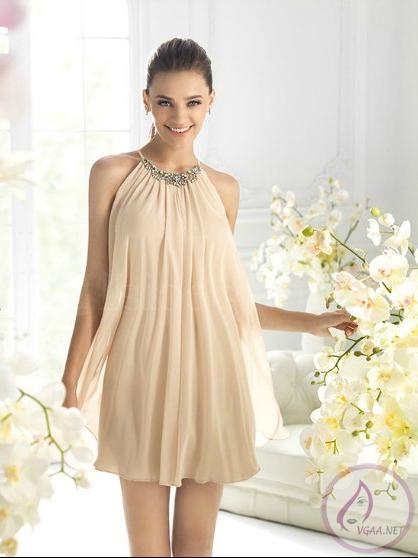 Askılı Elbise Modelleri